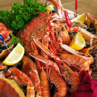 Nos Fruits de mer frais, préparés, prêts à consommer et à commander en ligne